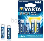 Батарейка VARTA High Energy LR03 BL4 (AAA)